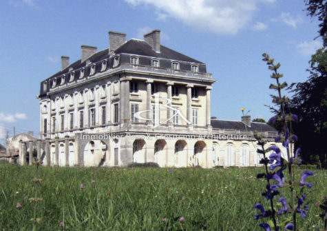 Remarquable château du XVIIIe classé aux Monuments Historiques !