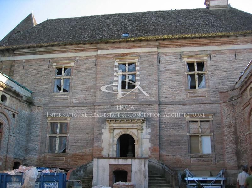 Château à restaurer classé Monument Historique…